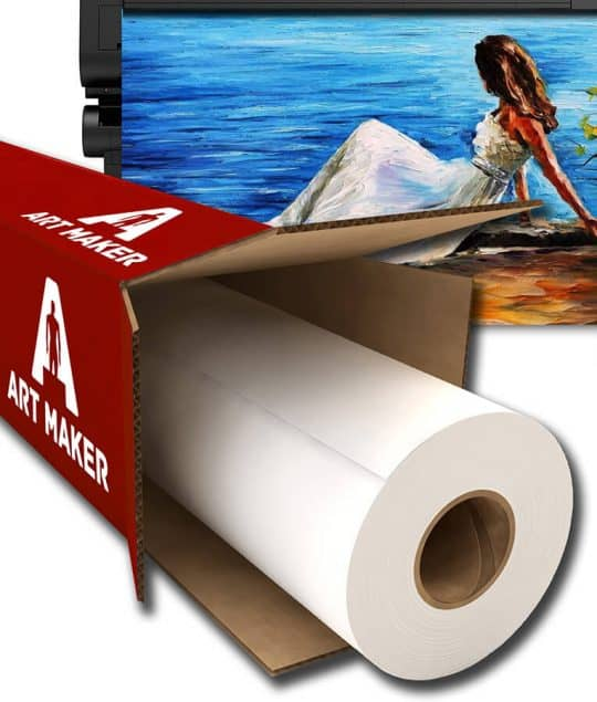 rola canvas glossy poliester sintetic Art Maker