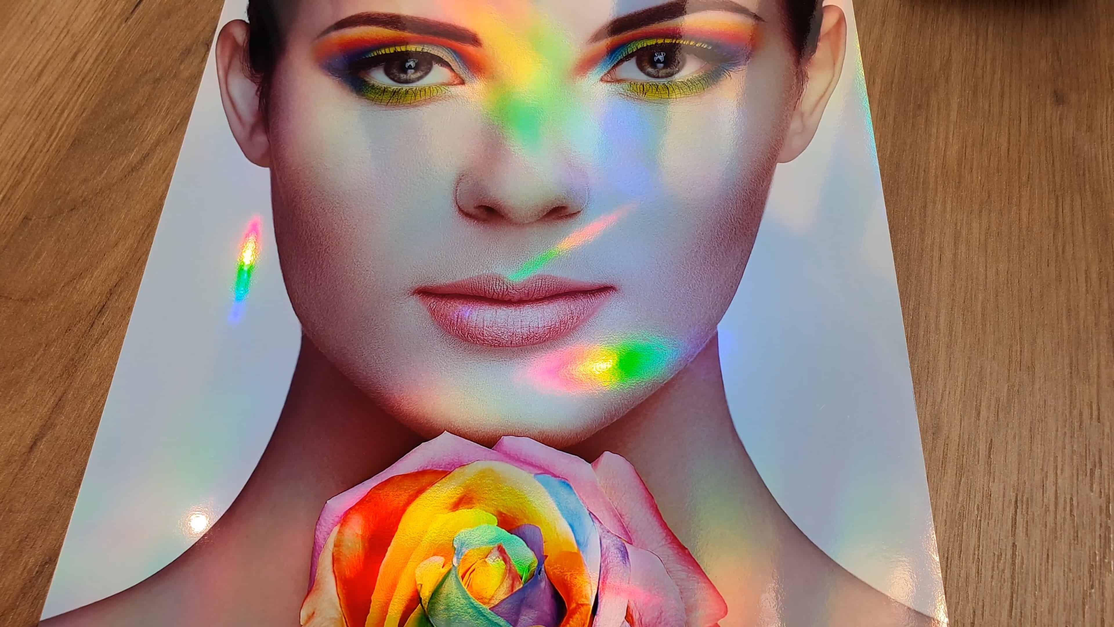 Rainbow Metallic Photo Paper