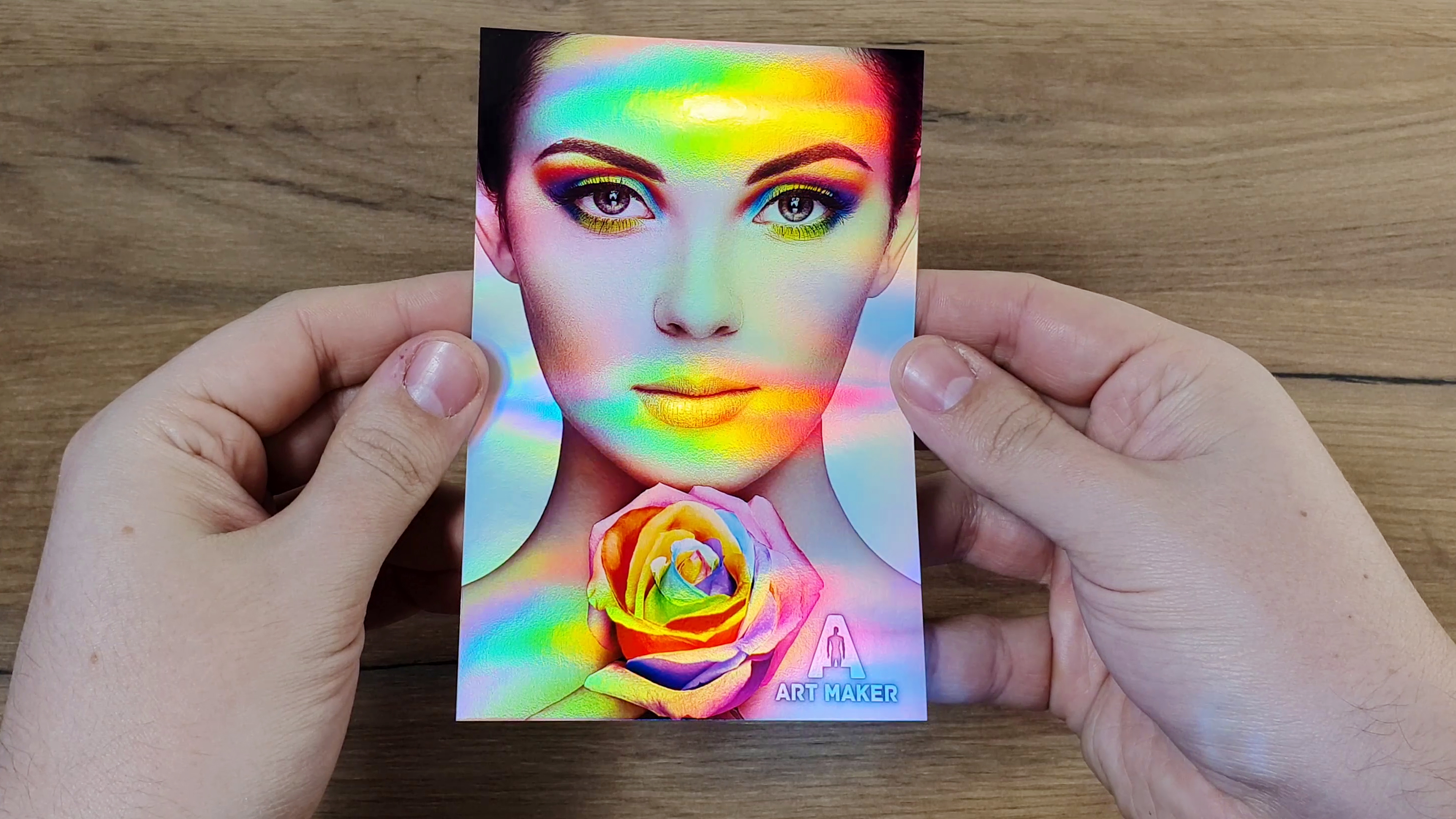 Photo Paper Rainbow Metallic