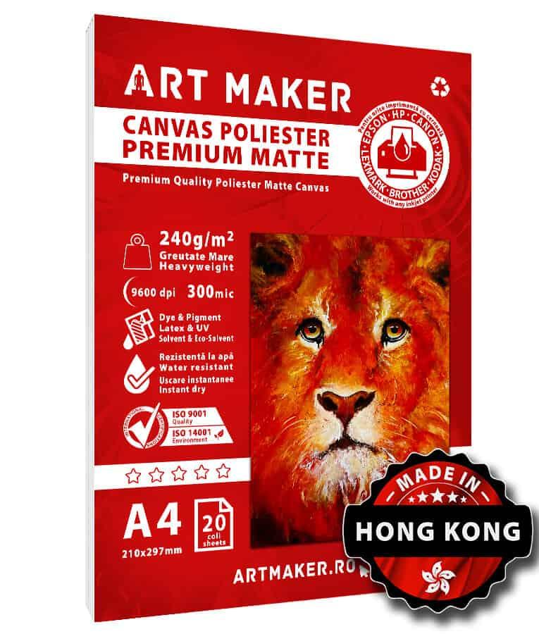 Canvas Mat A4 Poliester
