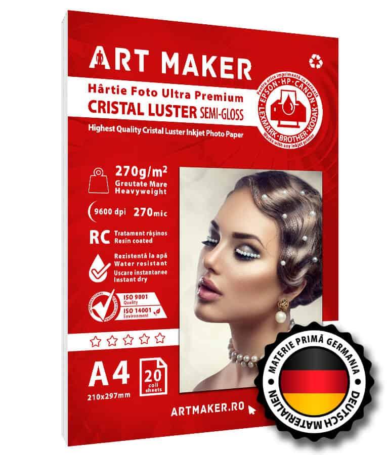 Hartie Foto Cristal Luster A4