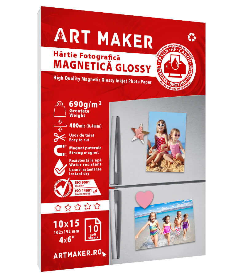 Hartie Foto Magnetica Glossy 10x15