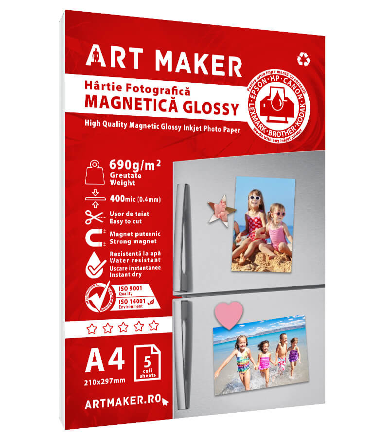 Hartie Foto Magnetica Glossy A4