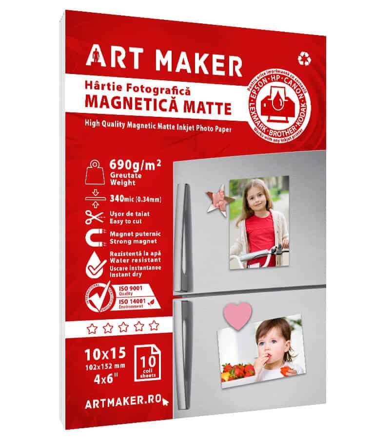 Hartie Foto Magnetica Mata 10x15