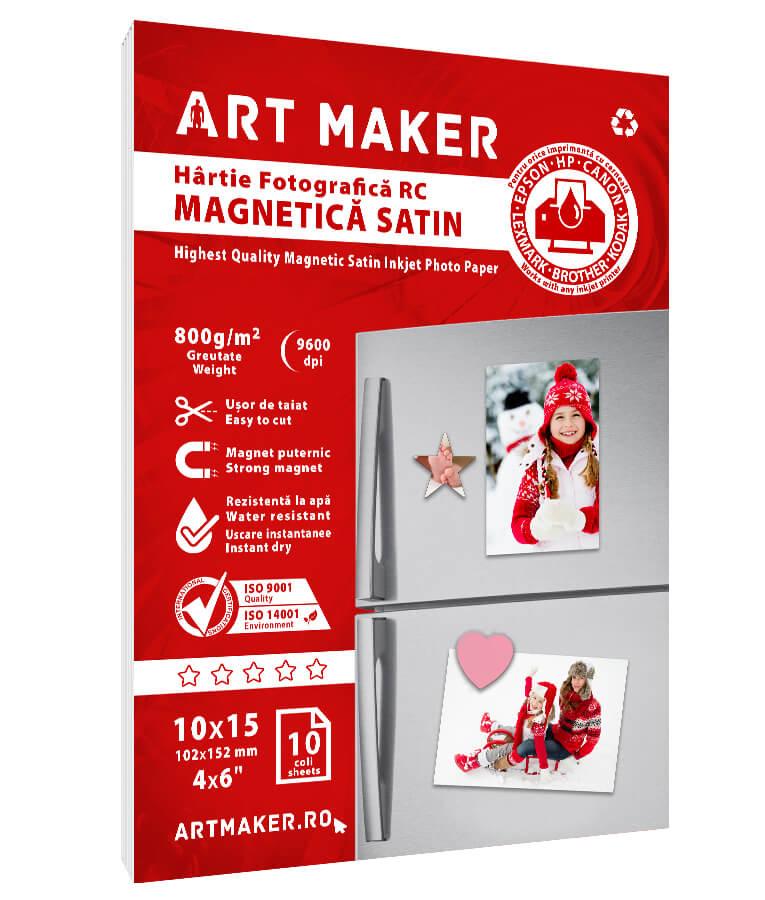 Hartie Foto Magnetica Satin 10x15