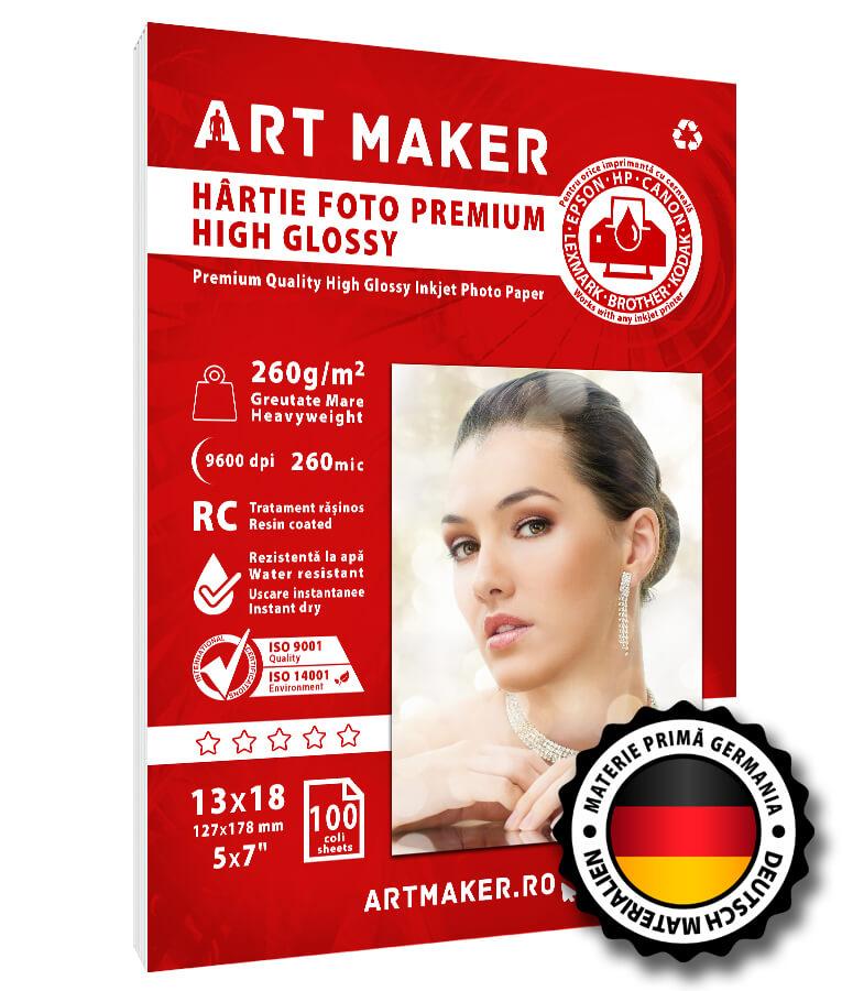 Hartie Foto Premium High Glossy 13x18