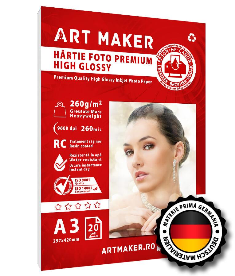 Hartie Foto Premium High Glossy A3