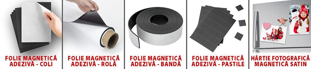 Hartie Magnetica cu Adeziv