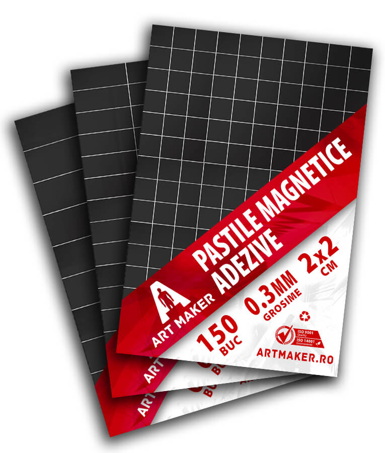 Pastile Magnetice Adezive